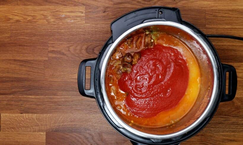 pressure cook jambalaya #AmyJacky #InstantPot #PressureCooker #recipe #chicken #cajun #sausage