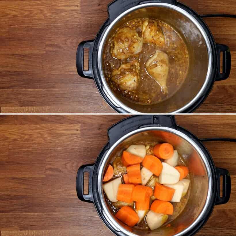 Chicken curry in Instant Pot #AmyJacky #InstantPot #PressureCooker #chicken #recipe
