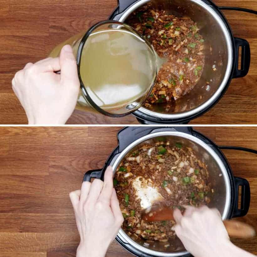 deglaze Instant Pot #AmyJacky #PressureCooker #recipe