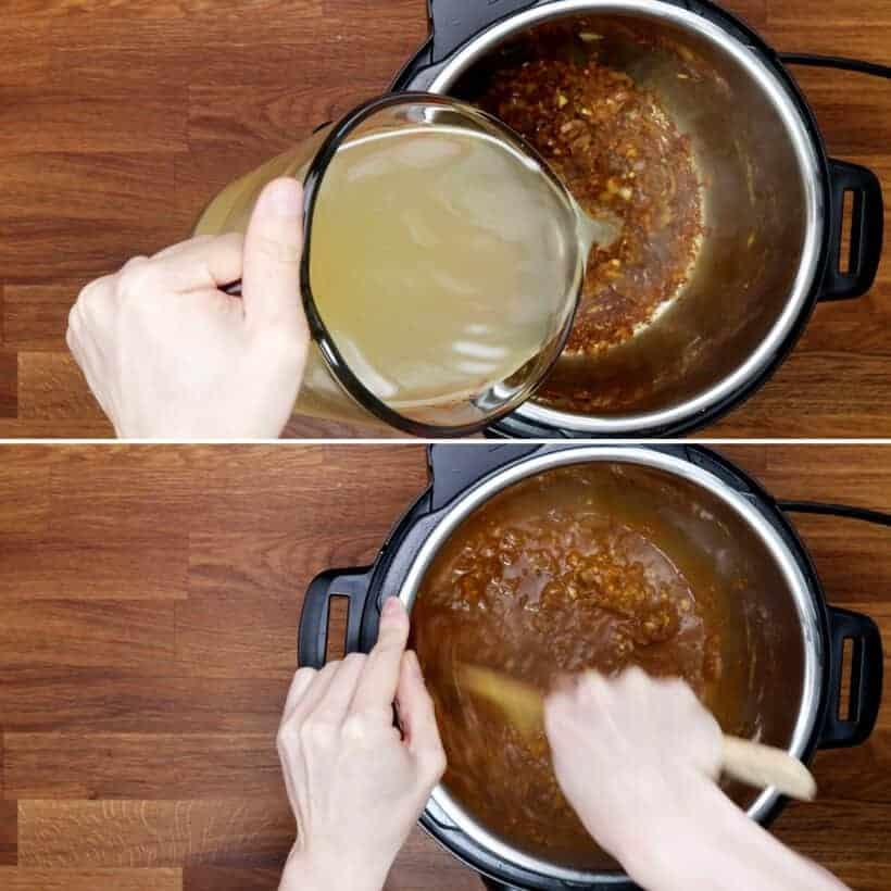 deglaze Instant Pot #AmyJacky #InstantPot #PressureCooker #recipes