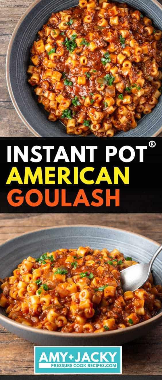 instant pot goulash | goulash instant pot | instant pot american goulash | pressure cooker goulash | instant pot beef goulash #AmyJacky #InstantPot #PressureCooker #recipe #GroundBeef #pasta