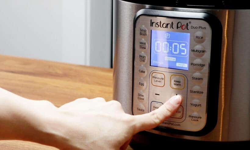 Instant Pot High Pressure 5 minutes  #AmyJacky #InstantPot