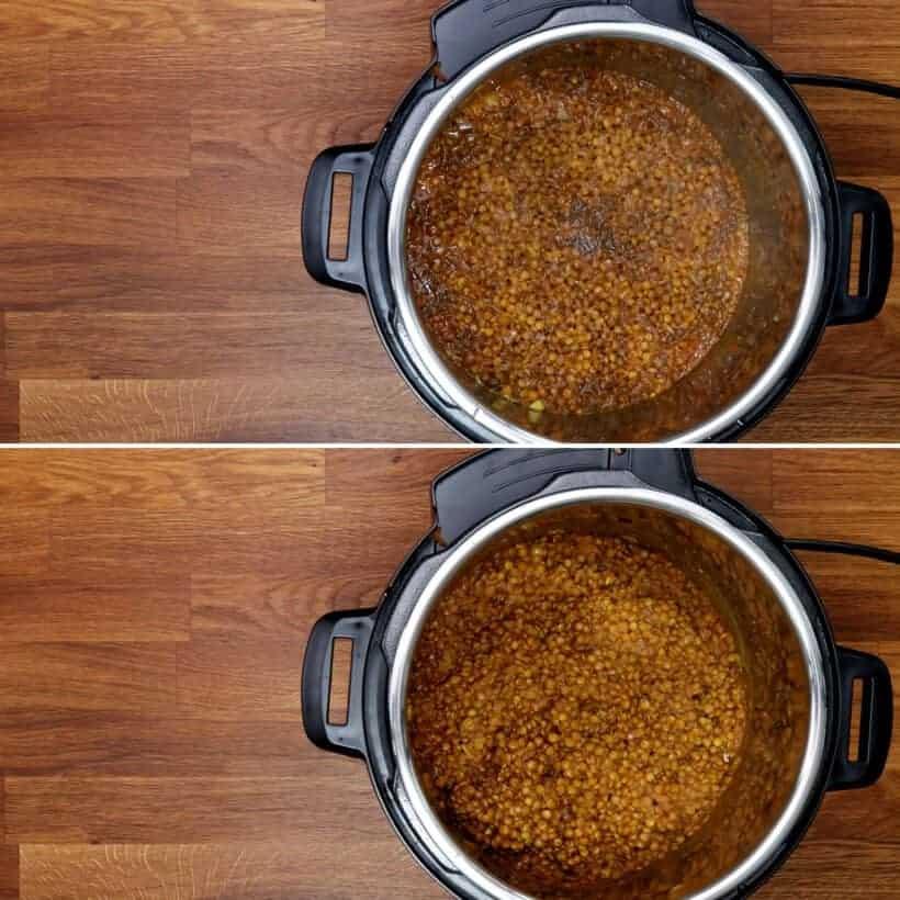 lentil curry pressure cooker #AmyJacky #InstantPot #PressureCooker #recipe #vegan #vegetarian #beans