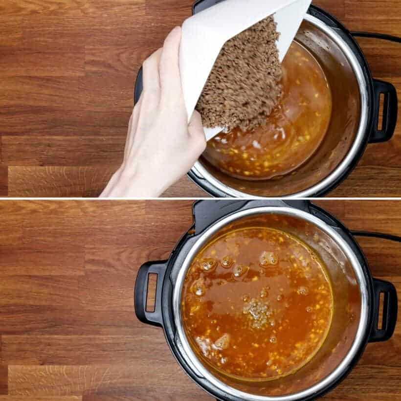 pressure cook lentil curry  #AmyJacky #InstantPot #PressureCooker #recipe #lentils