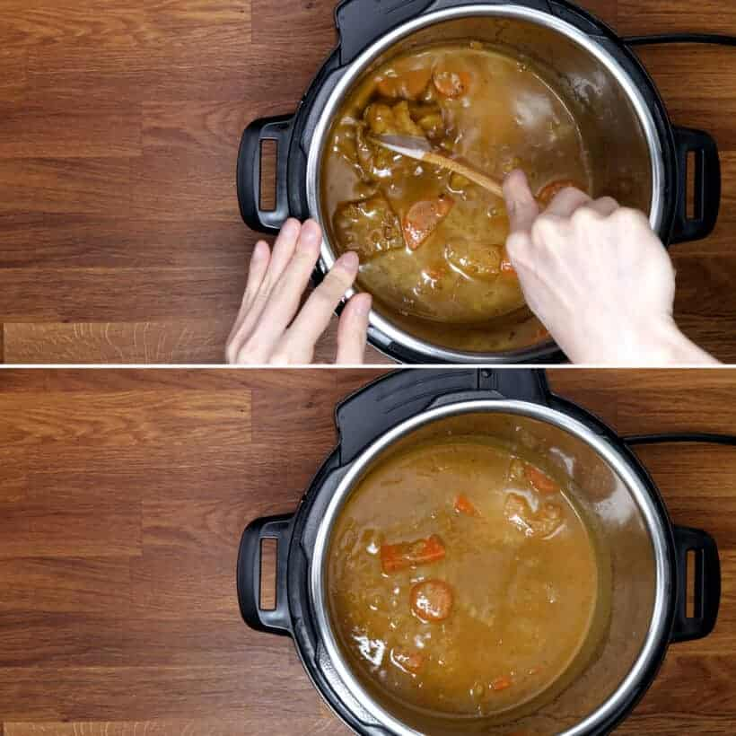 thicken chicken curry #AmyJacky #InstantPot #PressureCooker #recipe