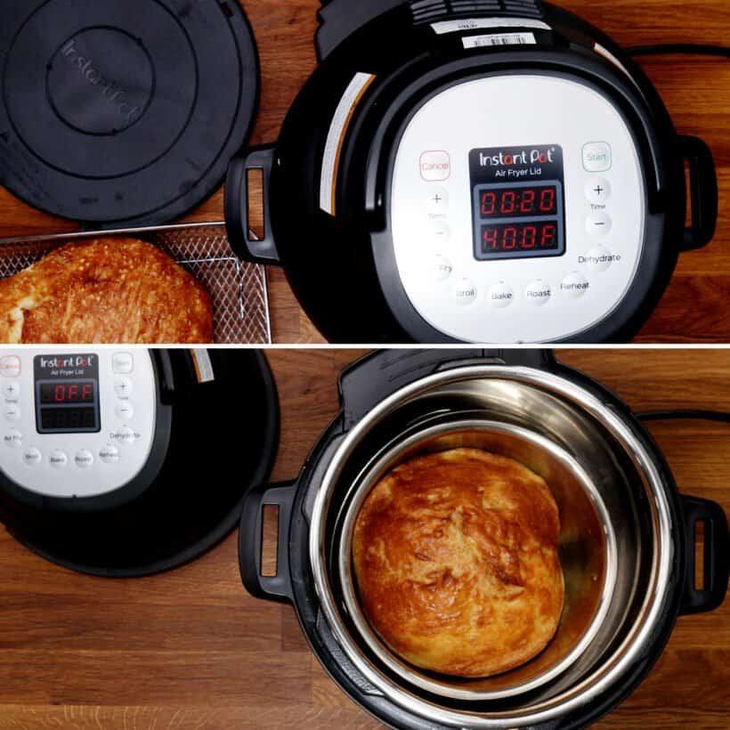 air fryer bread  #AmyJacky #InstantPot #AirFryer #recipe