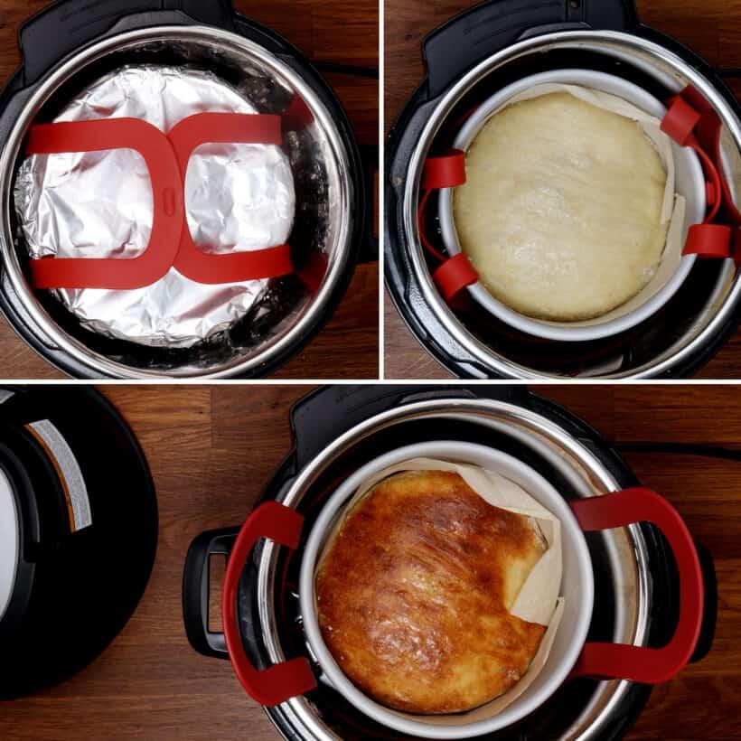 bread in Instant Pot  #AmyJacky #InstantPot #PressureCooker #recipe