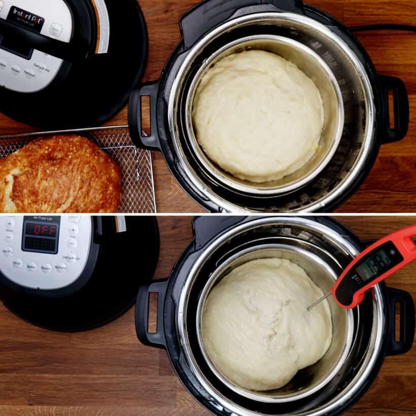 bread temperature  #AmyJacky #InstantPot #recipe #bread