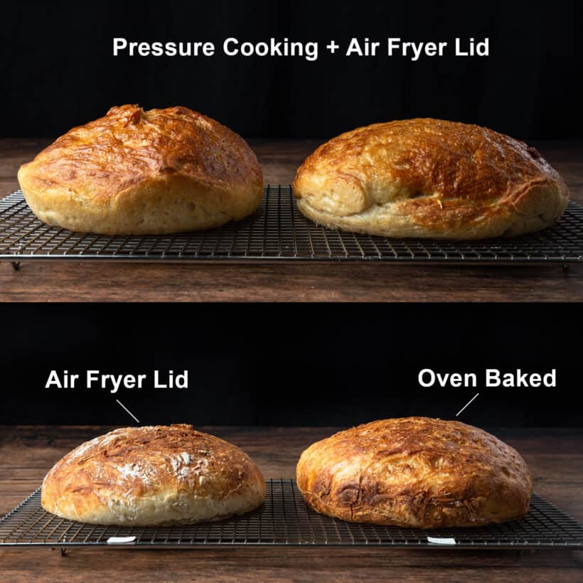how to make bread  #AmyJacky #InstantPot #AirFryer #PressureCooker #bake #bread