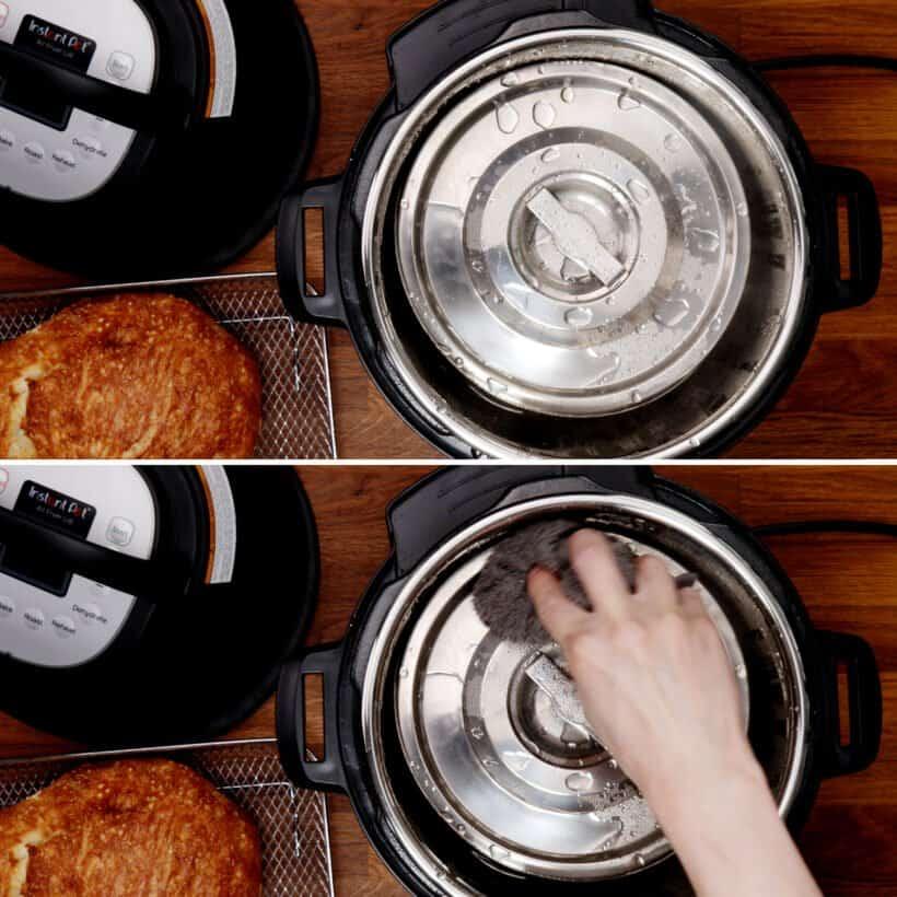 pressure cooker bread  #AmyJacky #InstantPot #PressureCooker #recipe