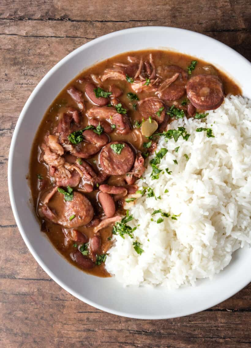 red beans and rice instant pot