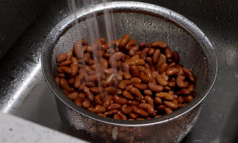 rinse red beans #AmyJacky #recipe #beans #cajun #creole