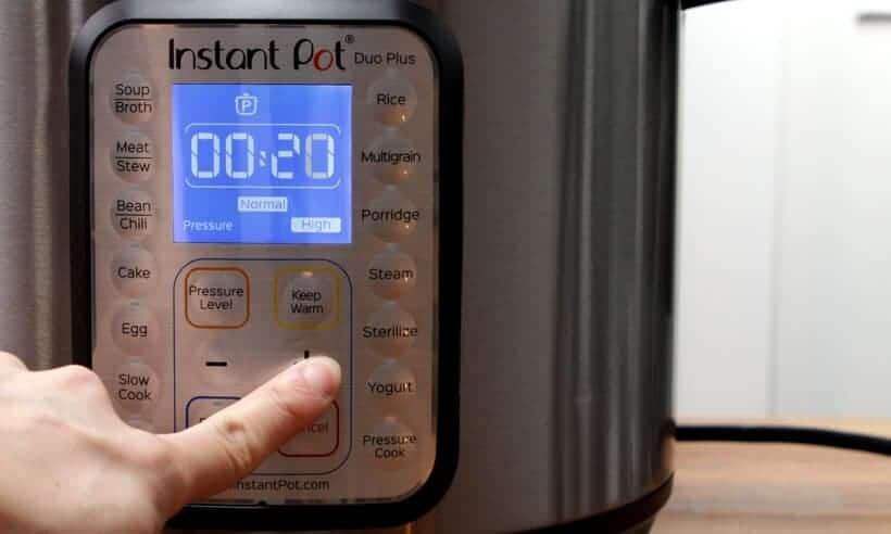 Instant Pot Pressure Cooker High Pressure 20 minutes  #AmyJacky #InstantPot