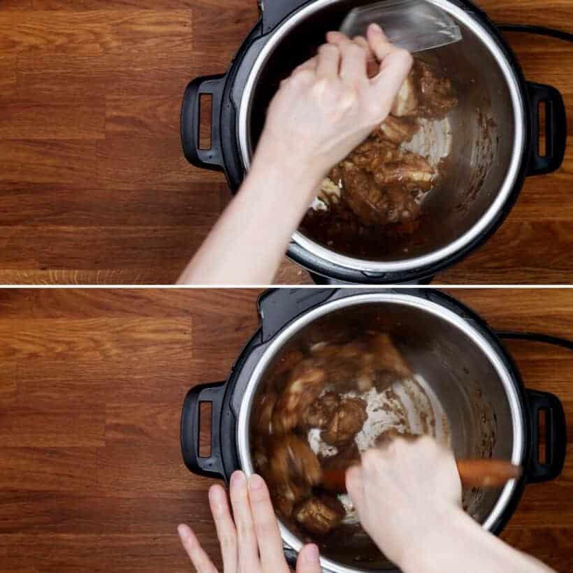 deglaze Instant Pot  #AmyJacky #recipe