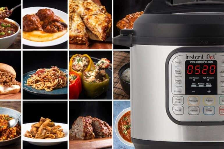Instant Pot Ground Beef Recipes | simple ground beef recipes | easy ground beef | what to make with ground beef | ground beef dinner ideas | healthy ground beef recipes #AmyJacky #InstantPot #recipes #beef