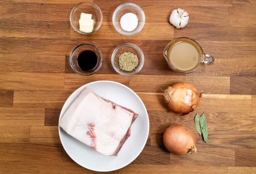 instant pot pork shoulder ingredients  #AmyJacky #InstantPot #recipe #pork