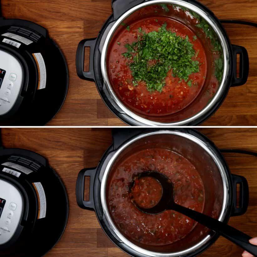 make salsa sauce  #AmyJacky #InstantPot #recipe
