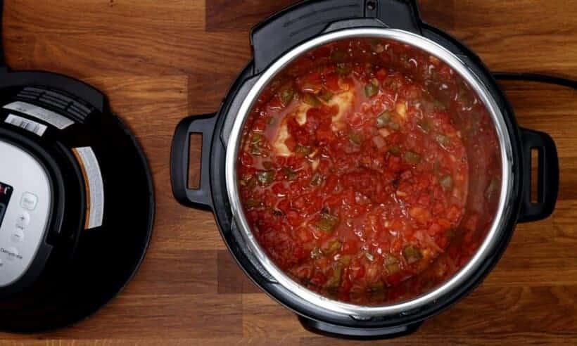 salsa chicken in Instant Pot  #AmyJacky #InstantPot #recipe