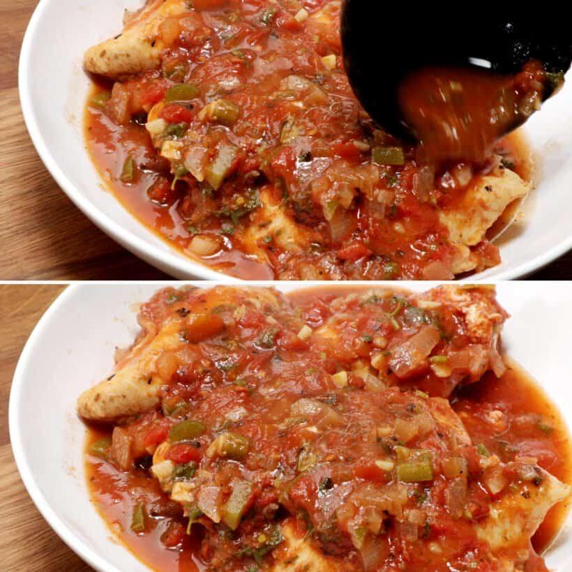 salsa chicken recipe  #AmyJacky