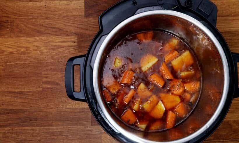 carrots in Instant Pot  #AmyJacky #InstantPot