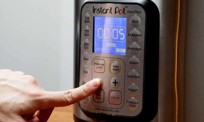instant pot pressure cooker high pressure at 5 minutes  #AmyJacky