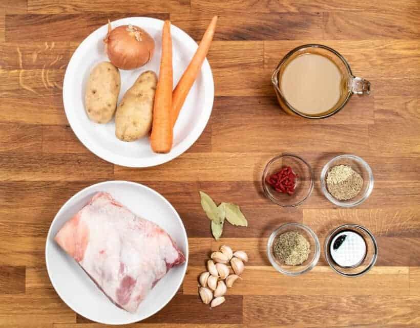 instant pot lamb ingredients  #AmyJacky #InstantPot #recipe