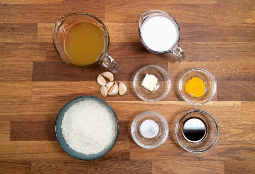 instant pot yellow rice ingredients  #AmyJacky #recipe #rice #indonesian