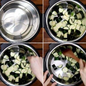 saute zucchini in Instant Pot #AmyJacky #recipe