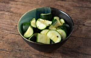 steamed instant pot zucchini #AmyJacky #InstantPot