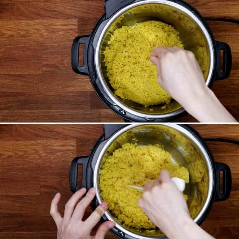 yellow rice recipe  #AmyJacky #PressureCooker #indonesian
