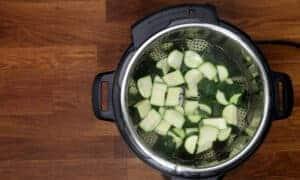 zucchini in Instant Pot #AmyJacky #InstantPot