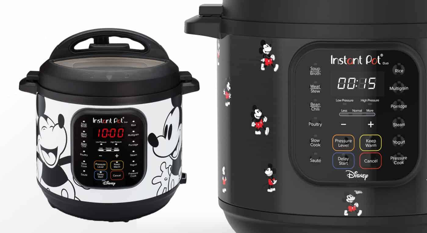 Disney Instant Pot Mickey Mouse DUO Special Edition