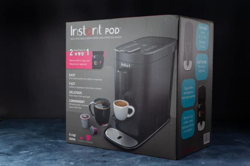 Instant Pod Coffee Macine