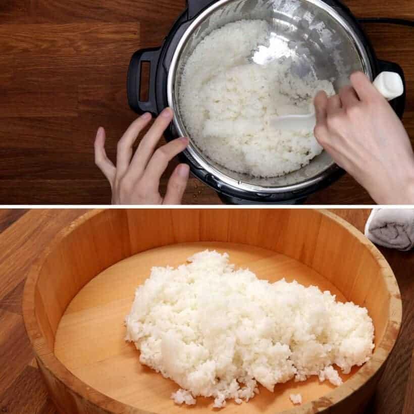 cooking japanese rice  #AmyJacky #InstantPot #recipe