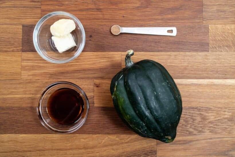 instant pot acorn squash ingredients  #AmyJacky #InstantPot
