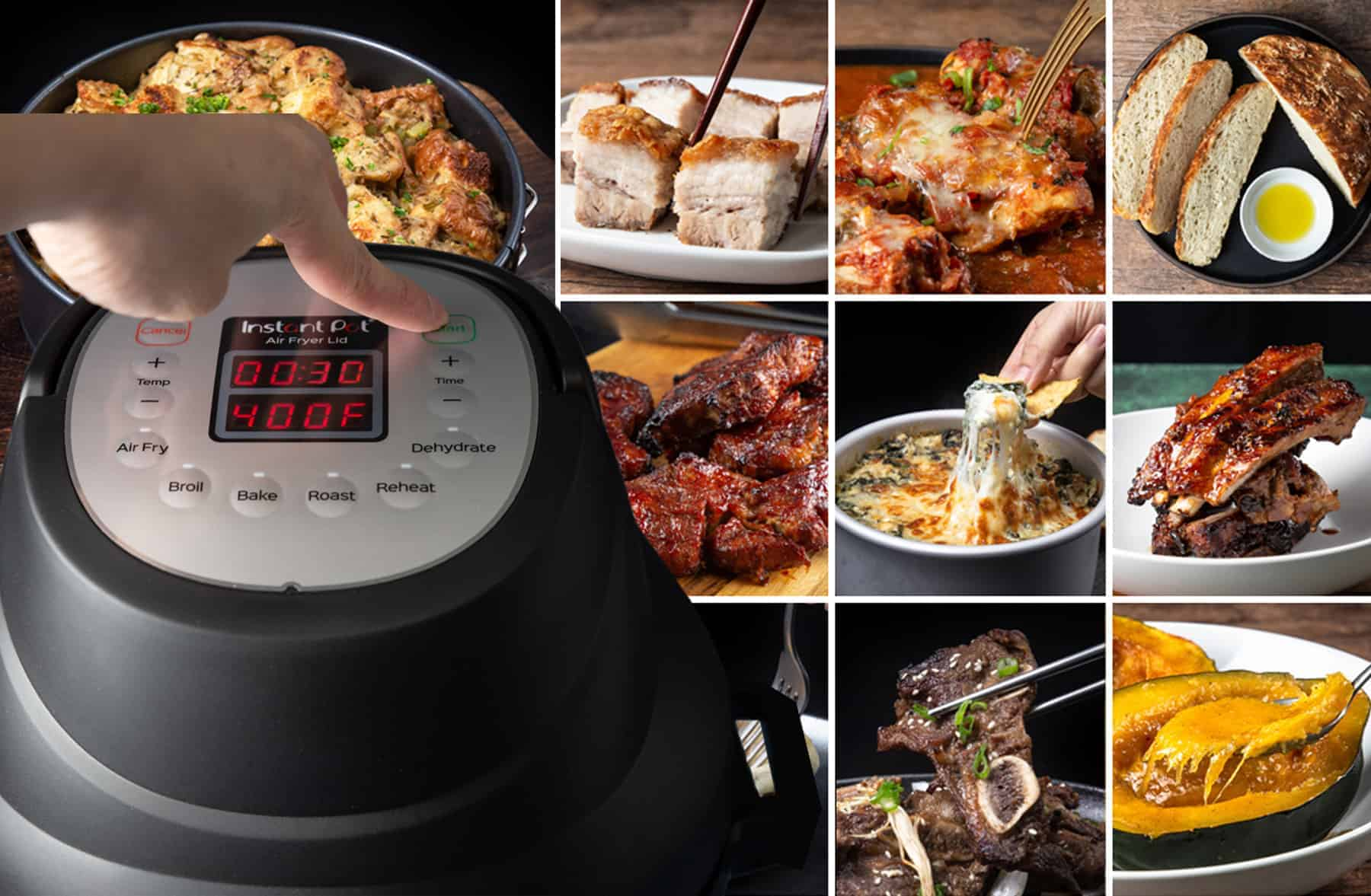 instant pot air fryer lid recipes | instant pot duo crisp recipes | instant pot crisp lid | instant pot air fryer attachment #AmyJacky #InstantPot #AirFryer #recipes