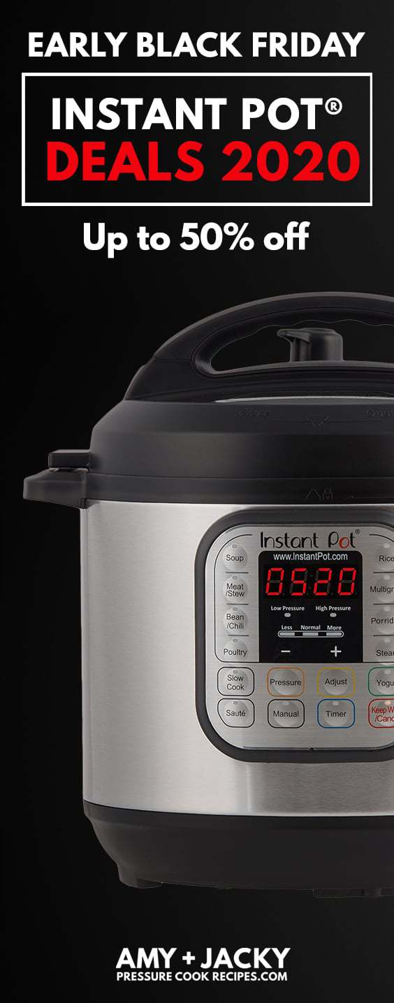Instant Pot Black Friday |  Instant Pot Black Freitag 2020 |  Instant Pot Black Friday Angebote