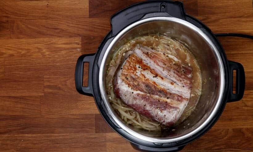 pressure cook pork loin roast  #AmyJacky