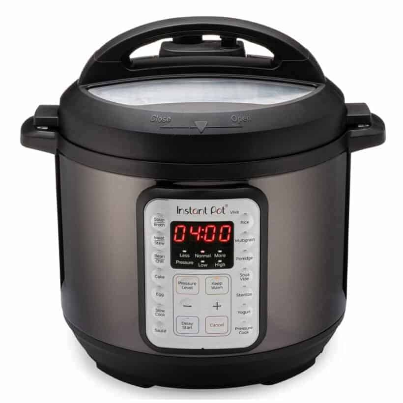 Instant Pot Viva Black Stainless Steel