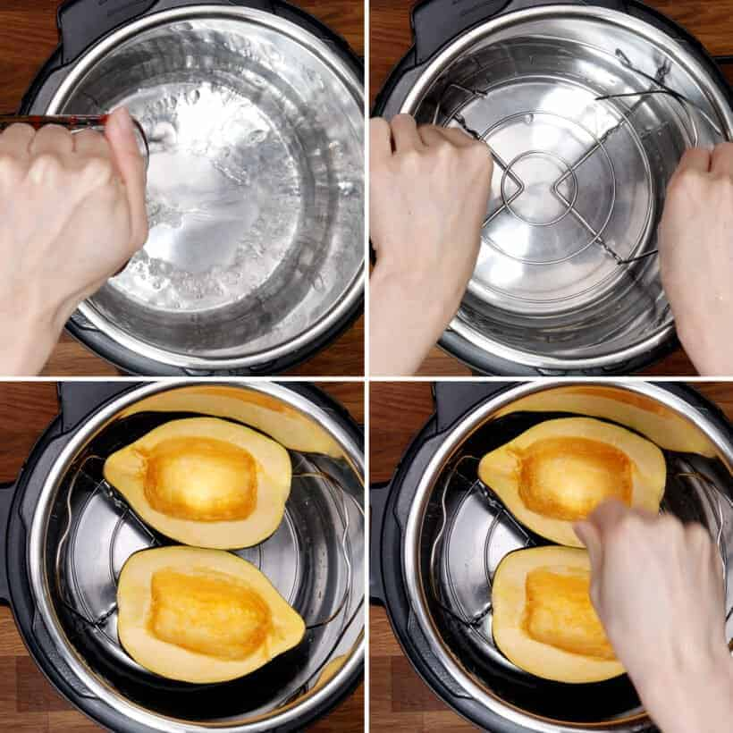 pressure cooker acorn squash  #AmyJacky #InstantPot #recipe #squash