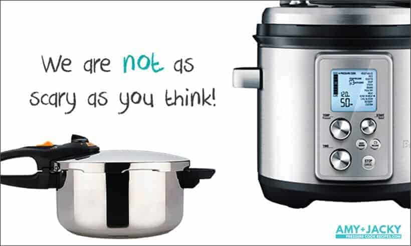 pressure cooking with a pressure cooker