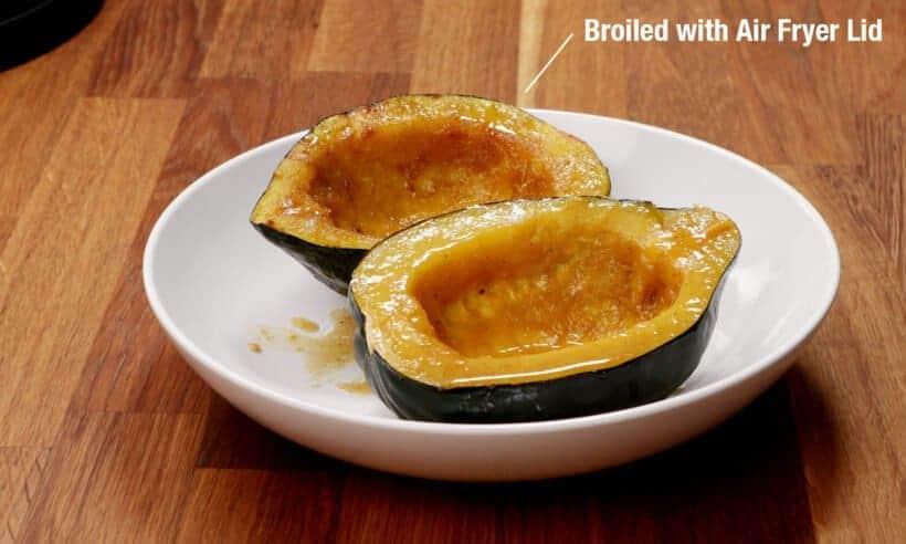 roasted acorn squash  #AmyJacky #recipe