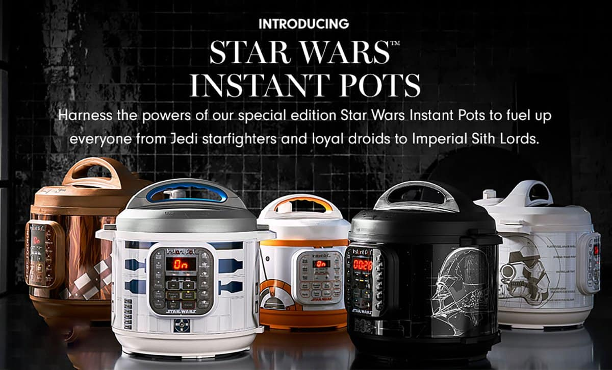 star wars instant pot #AmyJacky