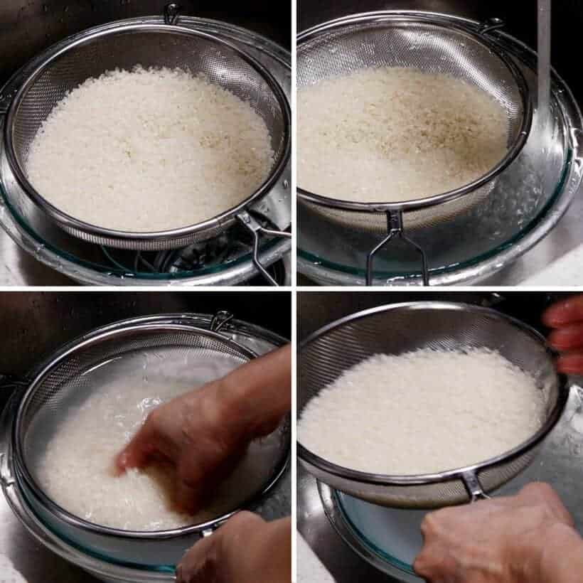 wash Japanese rice  #AmyJacky #rice #japanese