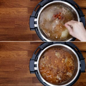 add garlic gochujang