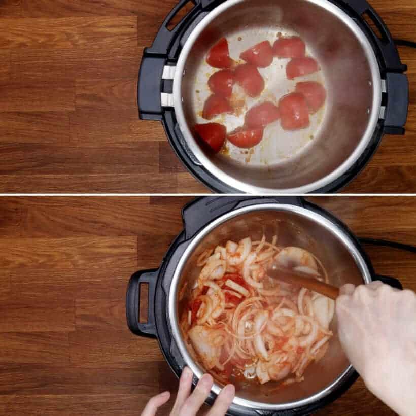 braune Tomaten