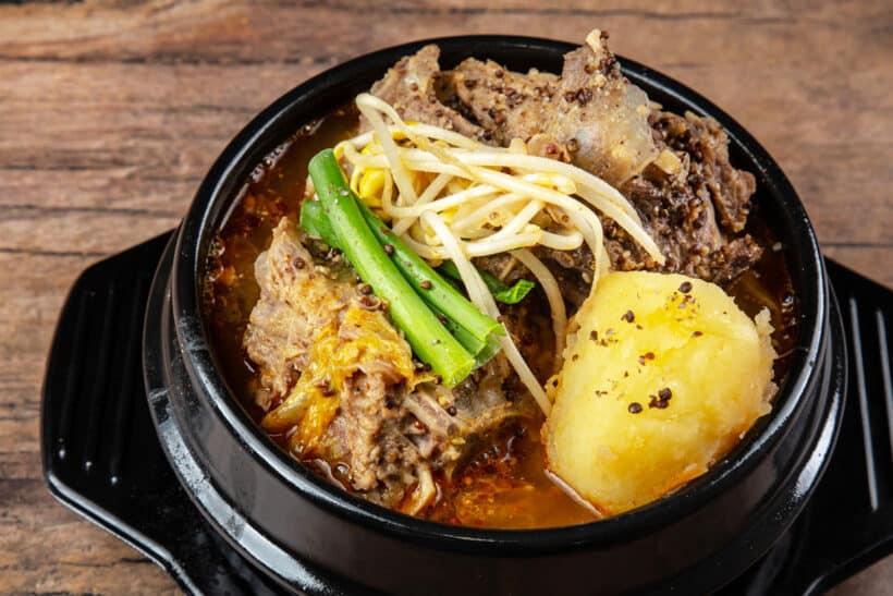 Gamjatang Instant Pot |  Instant Pot Gamjatang |  koreanische Schweineknochensuppe |  Gamjatang Rezept #AmyJacky #InstantPot #Rezept #Korean