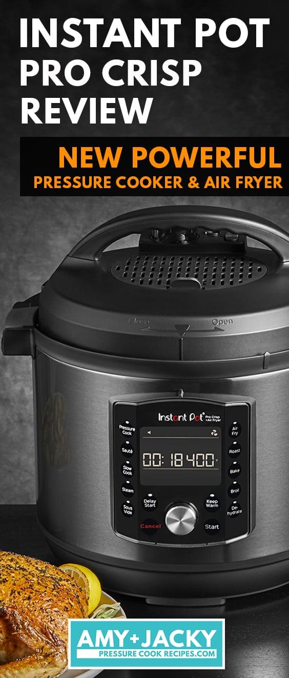 instant pot pro crisp | instant pot pro crisp review | instant pot 8 qt | instant pot pressure cooker  #AmyJacky #InstantPot