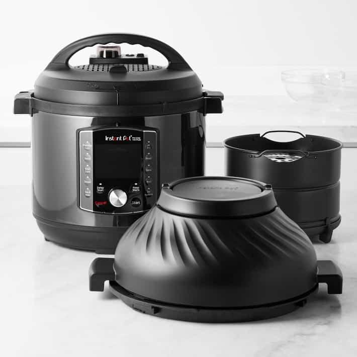 instant pot pro crisp pressure cooker and air fryer 8 qt
