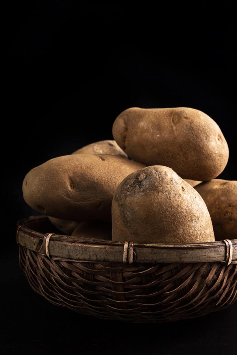 baked potatoes ingredients